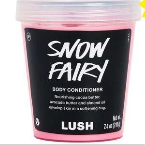 Lush Snow fairy body conditioner bubblegum lotion